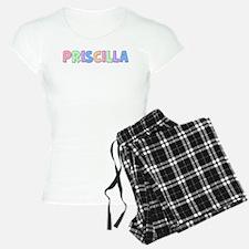 Priscilla Rainbow Pastel pajamas