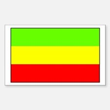 Ethiopia Rectangle Decal