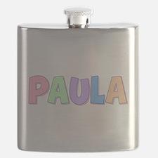 Paula Rainbow Pastel Flask