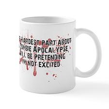 Zombie Apocalypse? Yes please! Small Mug