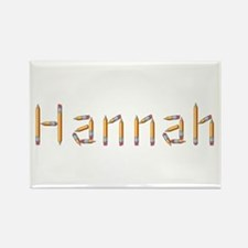 Hannah Pencils Rectangle Magnet
