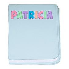 Patricia Rainbow Pastel baby blanket