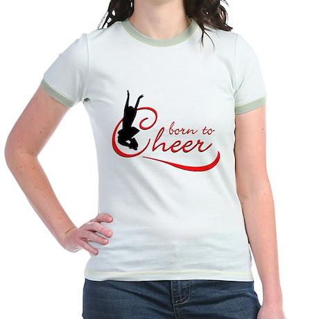 Born to Cheer Jr. Ringer T-Shirt