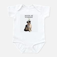 Pirate Cat 2 Infant Bodysuit