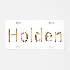 Holden Pencils Aluminum License Plate