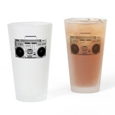 80s, Boombox Drinking Glass