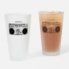 80s, Boombox Drinking Glass