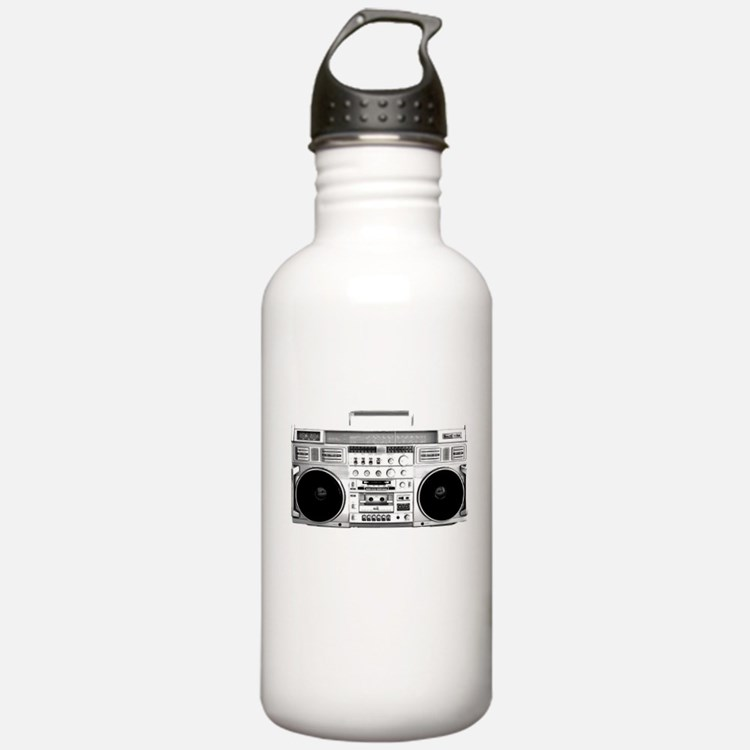 80s, Boombox Water Bottle