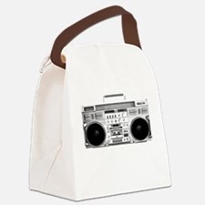 80s, Boombox Canvas Lunch Bag
