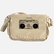 80s, Boombox Messenger Bag