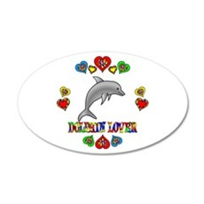 Dolphin Lover Wall Decal