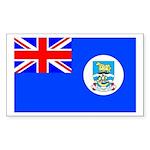 Falkan Islands Rectangle Sticker
