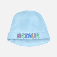 Natalia Rainbow Pastel baby hat