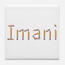 Imani Pencils Tile Coaster