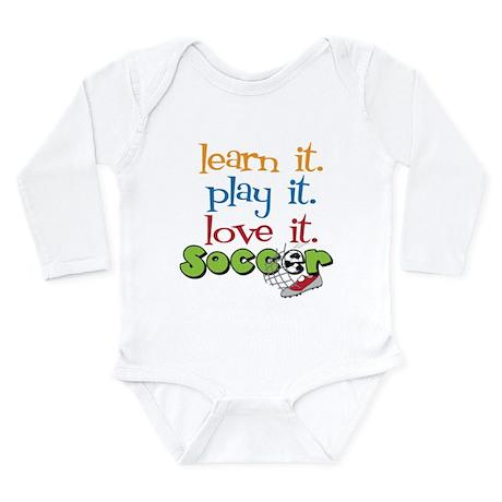 Learn It Long Sleeve Infant Bodysuit
