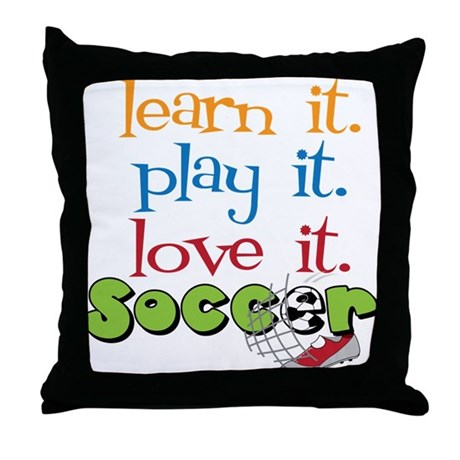 Learn It Throw Pillow