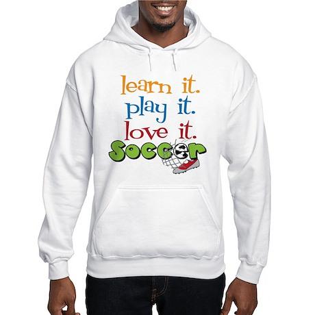 Learn It Hooded Sweatshirt