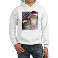 Christmas Tabby Cats Hoodie