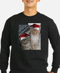 Christmas Tabby Cats T