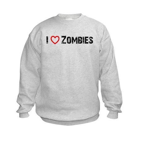 I <3 Zombies! Kids Sweatshirt