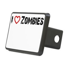 I <3 Zombies! Hitch Cover