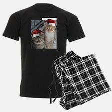 Christmas Tabby Cats Pajamas