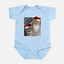 Christmas Tabby Cats Infant Bodysuit