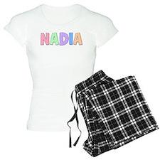 Nadia Rainbow Pastel Pajamas