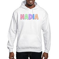 Nadia Rainbow Pastel Hoodie Sweatshirt