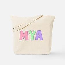 Mya Rainbow Pastel Tote Bag
