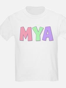 Mya Rainbow Pastel T-Shirt