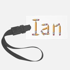 Ian Pencils Luggage Tag