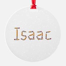 Isaac Pencils Ornament