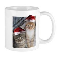 Christmas Tabby Cats Mug
