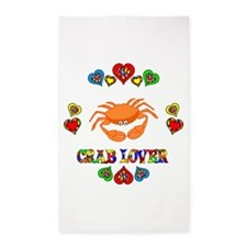 Crab Lover 3'x5' Area Rug