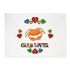 Crab Lover 5'x7'Area Rug