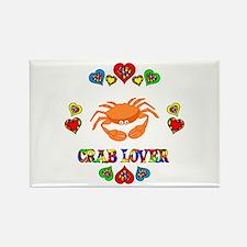 Crab Lover Rectangle Magnet