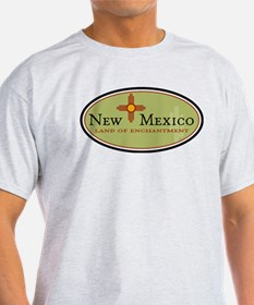 New Mexico Ash Grey T-Shirt
