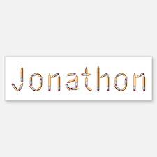Jonathon Pencils Bumper Bumper Bumper Sticker