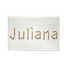 Juliana Pencils Rectangle Magnet