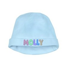 Molly Rainbow Pastel baby hat