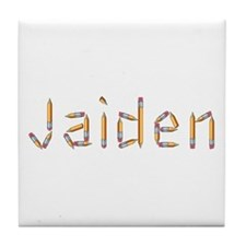Jaiden Pencils Tile Coaster