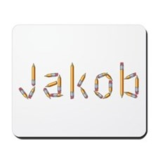 Jakob Pencils Mousepad