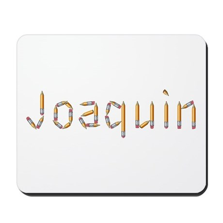 Joaquin Pencils Mousepad