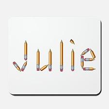 Julie Pencils Mousepad