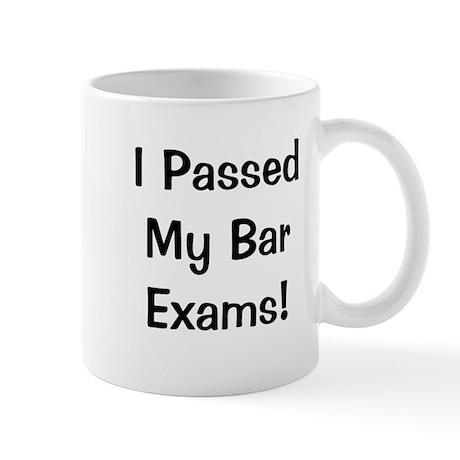 Bar Exams Passed Success Celebration Mug