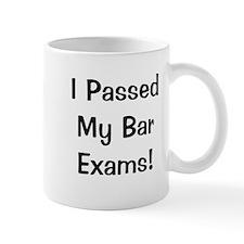 Bar Exams Passed Success Celebration Small Mugs