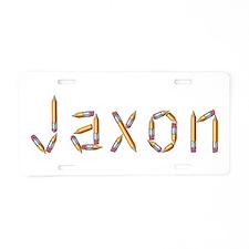 Jaxon Pencils Aluminum License Plate