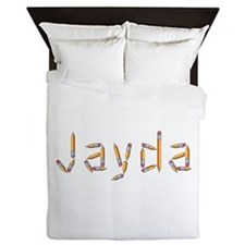 Jayda Pencils Queen Duvet