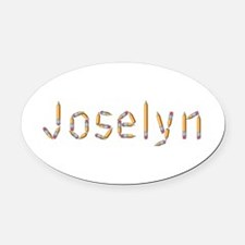 Joselyn Pencils Oval Car Magnet